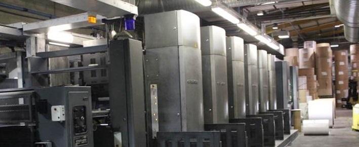 Vente aux enchères du matériel de l'imprimerie Les Presses de Bretagne (35)